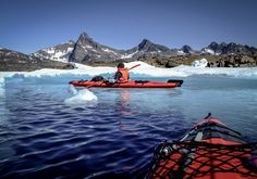 Kayaking in Greenland – go on a kayak trip in the Arctic waters
