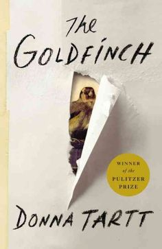 The Goldfinch By Donna Tartt...A painting becomes a boy's prize, guilt and burden.  Find this book @ your Library http://hpl.iii.com:2088/record=b1196961~S1