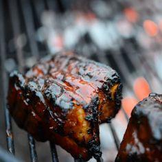 Spareribs, gone BIG | lars spiser – oppskrifter & matglede Spare Ribs, Steak, Bbq, Food, Barbecue, Pork Ribs, Barrel Smoker, Ribs, Essen