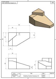 Isometric Drawing Exercises, Autocad Isometric Drawing, Isometric Design, Mechanical Engineering Design, Mechanical Design, Engineering Notes, Make Up Artist Ausbildung, Solidworks Tutorial, Mathematics Geometry