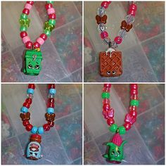 Shopkins Season 2 Handmade Necklaces  Variety by LanaLego on Etsy