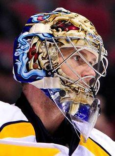 Pekka Rinne - Nashville Predators Hockey Helmet 92399ed68