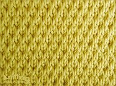 The Long-Slip Textured is no common stitch. This pattern creates a thick but very soft fabric.