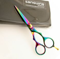 Sanguine Hairdressing Scissors, Titanium Hair Scissors, Professional, All Sizes in Health & Beauty, Salon & Spa, Scissors & Shears | eBay