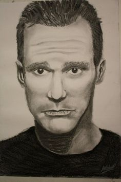 Jim Carrey - Charcoal Drawing by ~CaptainBoss on deviantART