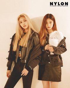 Photoshoot for Nylon Magazine - Yuna and Yeji Kpop Girl Groups, Korean Girl Groups, Kpop Girls, Pretty Korean Girls, South Korean Girls, Korean Girl Fashion, Shin, Pop Group, Girl Crushes