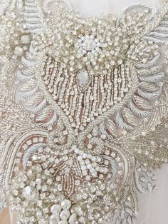 Luxury Hand Beaded Bridal Bodice Rhinestone Applique with Indian Silk Crystal Wedding Dress Panels B dresses indian silk Luxury Hand Beaded Bridal Bodice Rhinestone Applique with Indian Silk Crystal Wedding Dress Panels Bridal Cape Beaded Lace Fabric, Sequin Fabric, Etsy Embroidery, Beaded Embroidery, Crystal Wedding Dresses, Bridal Cape, Rhinestone Appliques, Lace Applique, Bodice