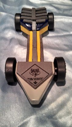 Jacob's Cub Scout Pinewood Derby Arrow Car