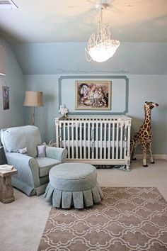 Classic Children's Storybook Nursery - Great for a boy or girl. This will definitely be our nursery theme, so cute!