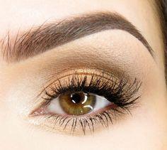 Victoria's Secret Model Inspired Bronzed Smokey Eye