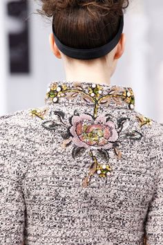 Chanel clothing details...