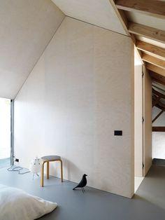 Stupefying Tips: Minimalist Interior Grey Simple minimalist decor diy clothes.Modern Minimalist Interior Building minimalist home office storage. Plywood House, Plywood Ceiling, Plywood Walls, Plywood Sheets, Plywood Furniture, Modern Furniture, Furniture Design, Minimalist Interior, Minimalist Bedroom