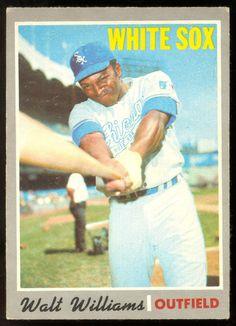 1970 TOPPS OPC O PEE CHEE BASEBALL #395 WALT WILLIAMS EX+ CHICAGO WHITE SOX CARD #ChicagoWhiteSox