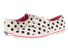 DIY Polka Dots : DIY Polka Dot Sneakers a la Kate Spade  : DIY Shoes DIY Refashion