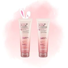 Leaping Bunny [and Easter bunny] approved. #GiovanniCosmetics #2chicFrizzBeGone #GiovanniHairCare
