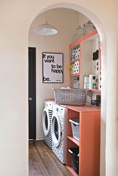 fun laundry room!