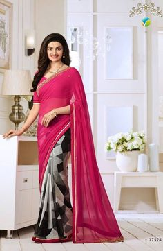 Vinay Starwalk Vol-20 Georgette Sarees (10 pc Catalog)