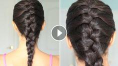 Basit Fransız Saç Örgüsü Nasıl Yapılır, braid,hairstyle,braids styles,hair braid styles,braid hairstyles,braiding hairs,braid tutorials,braid review,braid video