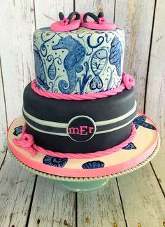 Cakesbykirsten Girly casino cake Casino theme 30th birthday