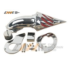 Chrome Air Cleaner Intake Filter case for Honda Shadow VLX600 VT600CD Deluxe 99+ New