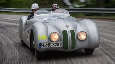 BMW 328: Winner of the Mille Miglia in 1940 | topgear #Vehicles