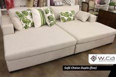Sofa Chaise dupla fixa