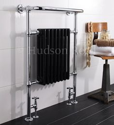 Visit Designer Bathroom Concepts for the Hudson Reed Marquis Traditional Towel Rail. All Hudson Reed traditional towel rails include Free UK Delivery and up to off. Radiator Valves, Towel Radiator, Radiator Cover, Dream Bathrooms, Amazing Bathrooms, Marquis, Bathroom Heat Lamp, Bathroom Lighting, Victorian Radiators