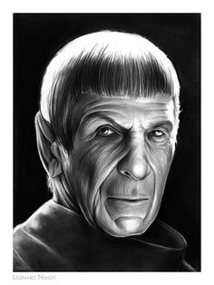 Leonard Nimoy as Spock... the older years