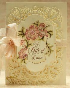 Heartfelt Creations Cut Emboss Dies by Spellbinders Raindrops on Roses HCD743 | eBay