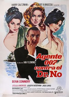 James Bond - Dr. No // Movie Poster (2) //