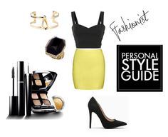"""styling idea"" by rosaregaler ❤ liked on Polyvore featuring Guide London, Blu Bijoux, Chanel, outfit and party"