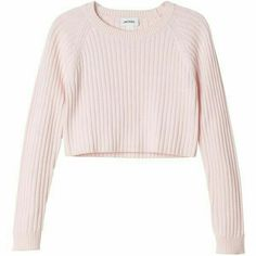 A cropped knit as tasty and sweet as the raspberry souffle we named its colour for. Crop Top Sweater, Crop Shirt, Sweater Shirt, Cute Sweatshirts, Cute Shirts, Pink Shirts, Teen Fashion Outfits, Outfits For Teens, Vetement Fashion