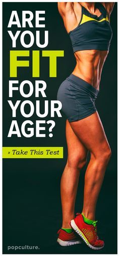Want to see how FIT you really are? It's time to test yourself to see if you're at the right strength level for your age. Popculture.com