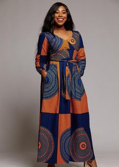 African long gown,African print dress,African clothing for women,African wear for women,African outf African Maxi Dresses, African Dresses For Women, Ankara Dress, African Attire, African Wear, African Style, Ankara Gowns, African Outfits, Ladies Dresses