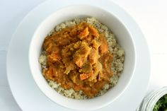 Choosing Raw - vegan and raw recipes   Easy Red Lentil, Sweet Potato, and Coconut Curry (Gluten Free)