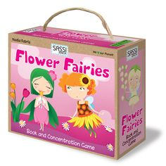 Junior: Flower Fairies - Book and concentration game with 20 cards and a book. Flower Fairies Books, Concentration Games, Puzzle, Apps, Flower Names, Little Books, Great Memories, Kids Toys, Children's Toys