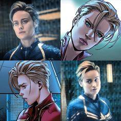 Oof her haircut looks so good Marvel Dc Comics, Marvel Avengers, Marvel Heroes, Ms Marvel, Disney Pixar, Thor, Loki, Captain Marvel Carol Danvers, Die Rächer