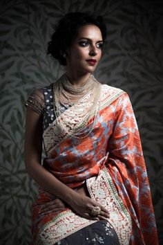 Refreshing and Traditional Saree Designs For You0241