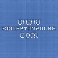 www.kempstonsolar.com Solar Panel Installation, Solar Panels, Candy Bar Awards, Solar Geyser, Alternative Energy, Renewable Energy, Solar System, Logos, Girls Camp