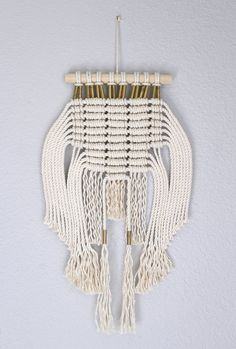 Hey, I found this really awesome Etsy listing at https://www.etsy.com/listing/215304729/macrame-wall-hanging-crown-by-himo-art