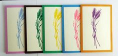 Greeting Card Set Blank Note Cards All Occasions by Zedezign #greetingcard #set #cards