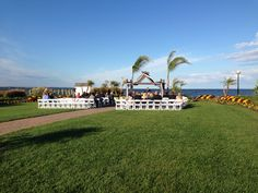 what a beautiful day for a wedding at the herring bay bridal garden #herringtononthebay