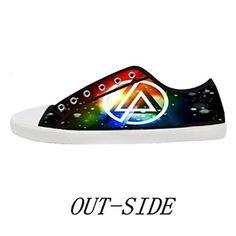 linkin park shoes | Amazon.com: Women's White Casual Canvas Shoes Linkin  Park…
