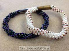 Wavy Embellished Kumihimo Bracelet Kits