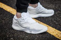 san francisco 669e9 4845a adidas Crazylight 2016 (White) Grey Sneakers, Adidas Sneakers, Shoes  Sneakers, Air