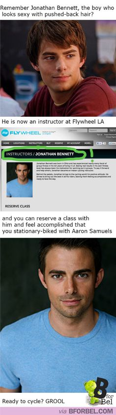 Remember AARON SAMUELS? Here's what he's up to now. So where can I find this cycling class??