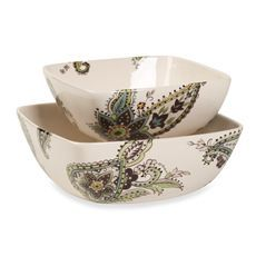Need 2 sets of these pasta bowls. love the pattern. Misto Angela ...