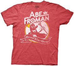 80s Gift Ideas: Ferris Bueller's Day Off Abe Froman T-Shirt