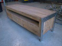 hout metaal meubels te koop - Google zoeken