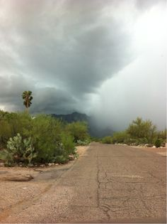 Monsoon season was awesome. Many rainbows afterward and the streets became rivers, because there were no sewers!